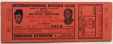 Rocky Marciano Vs Jersey Joe Walcott Championship Full Ticket 5/15/1953