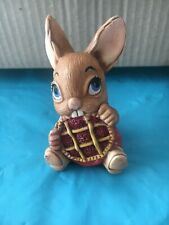 Vintage Pendelfin Picnic Midge Rabbit ornament