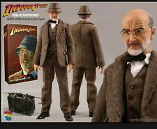 Sideshow Medicom Indiana Jones Henry Jones Senior 1/6 Scale Figure Rare