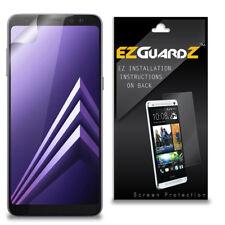 2X EZguardz Clear Screen Protector Shield HD 2X For Samsung Galaxy A8 (2018)
