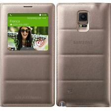 Original Samsung S VIEW FLIP CASE Galaxy NOTE 4 SM N910f mobile cell phone cover