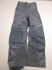 Columbia Size M Womens Black Athletic 100% Nylon Outdoor Snow Ski Pants T331