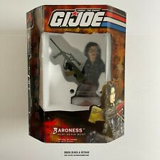 2002 Palisades Toys GIJOE Baroness Resin Mini Bust Statue New Sealed