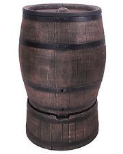 Ondis24 Wasserfass Regentonne Wasserbehälter Eichenfass 240 Liter mit Standfuß