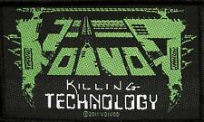 VOI VOD AUFNÄHER / PATCH # 7 KILLING TECHNOLOGY