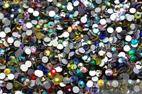 Mixed 1440Pcs Top Quality Crystal Rhinestones Flatback Nail Art Jewelry Making