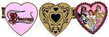 Disney Princess Gang Hinged Heart Pin