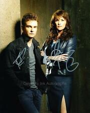 AMANDA TAPPING & ROBIN DUNNE - Sanctuary GENUINE AUTOGRAPHS UACC (Ref:5892)