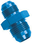 15219 Powerflow-12AN Flare Union Adapter Fitting Aluminum Fuel line