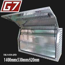 1400x530x820 Aluminium toolbox ute checker plate tool box truck storage Full 4