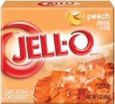 Jell-O Peach Gelatin Dessert Mix
