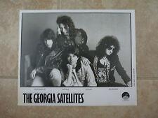 The Georgia Satellites B&W 8x10 Photo Music Promo