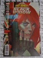 Infinity Countdown Black Widow (2018) Marvel - #1, Duggan/Virella, VF/NM