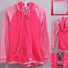 Bench Pink Zipper Sweater Size Small Hoodie Jacket Athletic Running 2 Tone
