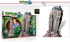 Wrebbit 3D Puzzle Classic Collection - Empire State Building - 975 Pieces New /
