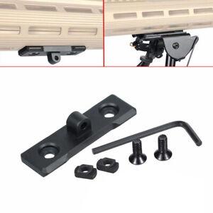 1SET M-Lok Bipod Mount Adapter - for Harris Sling Stud (Aluminum)