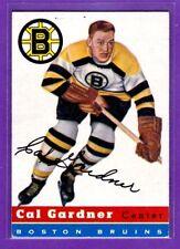 1954-55 TOPPS VINTAGE HOCKEY CARD#47 CAL GARDNER (BOSTON BRUINS)
