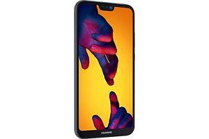 Huawei P20 Lite ANE-LX1 64GB Black Sim Free / Unlocked Mobile Phone - A-Grade