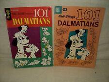 101 Dalmations Gold Key 1 + Dell Four 1183 SET Solid! Comics (s 9450)