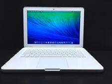 "Apple MacBook Mac Laptop Computer 13"" White Unibody / OSX-2017 / 3 Year Warranty"
