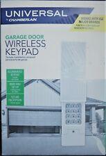 Chamberlain KLIK2U-P2 Universal Wireless Garage Door Keypad - White