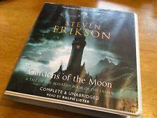 GARDENS OF THE MOON by Steven Erikson- Unabridged CD Audio Book 22 discs