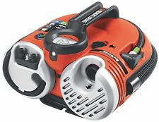 Black & Decker Cordless Rechargeable Air Compressor Inflator Pump Car Tire Bike