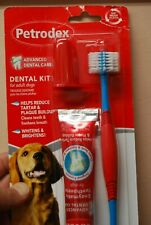 Sentry Petrodex Advanced Dental Care Kit Adult Dogs -  Poultry Flavor Exp 6/2021