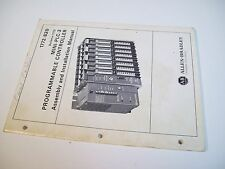 Allen-Bradley 1772-820 Mini-Plc-2 Programming Assembly & Installation Manual