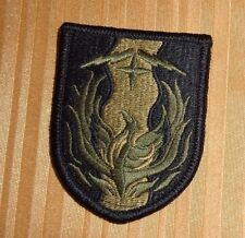 ARMY PATCH,36TH SUSTAINMENT BRIGADE  ,MULTI-CAM,SCORPION, WITH VELCR
