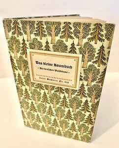 Insel-Bücherei Nr. 316 - Das kleine Baumbuch von Willi Harwerth 1991
