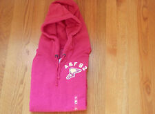 NWT Abercrombie & Fitch Fiona Hoodie Jacket Size Large Dark Pink