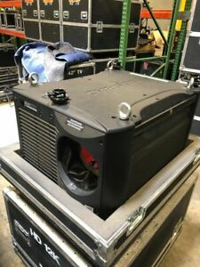 Christie Roadster HD12K Large Venue Projector in Case Low Hours - New Lamps