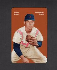 JOHNNY BRIGGS, Los Angeles Angels~PCL FIRST PRINTING color card Carl Aldana 2017