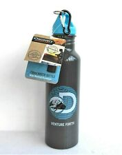 SUMMIT DISCOVERY ADVENTURES 750ml ALUMINIUM WATER BOTTLE WITH CARABINER CLIP