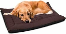 New listing Self Warming Pet Bed Cushion Pad Dog Cat Cage Kennel Crate Soft Cozy Mat - Brown