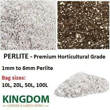 More details for perlite premium horticulture grade 1mm to 6mm in 10l, 20l, 50l and 100l bags