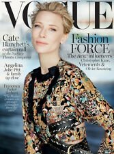 Vogue Australia December 2015 Cate Blanchett,  Brand New