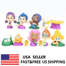 Bubble Guppies Gil Molly Nonny Vinyl Action Figure Toys Kids Xmas Gifts 12 Pcs