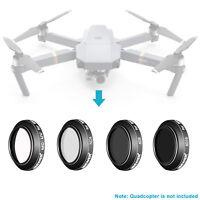 Neewer 4pcs Black Lens Filter Kit UV ND4 ND8 ND16 for DJI Mavic Drone Quadcopter