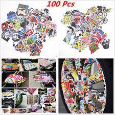 100Pcs Mixed Random Sticker Decal Car ATV Bike Racing Helmet Motorcross Dirt BMX