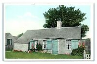 Postcard Auld Lang Syne Cottage, Sconset Nantucket Island MA phostint I7