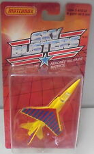 MJ7 Matchbox - 1989 USA Skybusters - Military - #09/14  Mirage - Yellow
