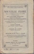 C1 Nouvelle FLORE BONNIER 1926 2173 Figures ESPECES ENVIRONS DE PARIS