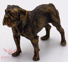 Tin Pewter Figurine of Dogue de Bordeaux French Mastiff Dog IronWork