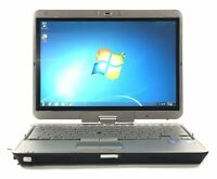 "HP EliteBook 2760P Laptop 12.1"" i7 2640M 2.8GHZ 4GB 320GB Win 7 Pro NWC"
