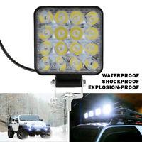 2X 12V LED barre lumineuse travail lumières tache inondation lampe conduite DE