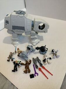 2016 Hasbro Star Wars AT-AT Imperial Walker Vehicle Lucas Films Rey Chewbacca
