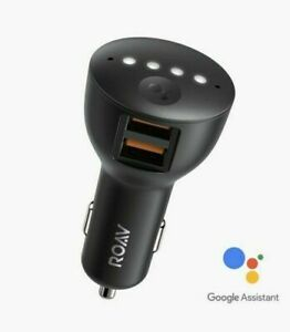NEW SEALED Anker Roav Bolt R5360 2-Port Car Charger With Google Assistant