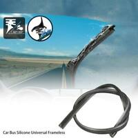 2pcs Windscreen Wiper Blade Rubber Strip Refill For 3 Section Wiper Blades Hot